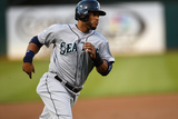 May 6, 2014, Seattle Mariners vs Oakland Athletics - Robinson Cano Photographic Print by Thearon W. Henderson