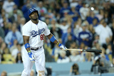 May 30, 2014, Pittsburgh Pirates vs Los Angeles Dodgers - Yasiel Puig Photographic Print by Stephen Dunn