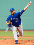 May 22, 2014, Toronto Blue Jays vs Boston Red Sox - Mark Buehrle Photographic Print by Jared Wickerham