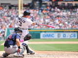 May 11, 2014, Minnesota Twins vs Detroit Tigers - Ian Kinsler Photographic Print by Leon Halip