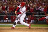 2013 World Series Game 5: Oct 28, Boston Red Sox vs St. Louis Cardinals - Matt Carpenter Photographic Print by David Durochik