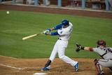 Apr 19, 2014, Arizona Diamondbacks vs Los Angeles Dodgers - Adrian Gonzalez Photographic Print by Paul Spinelli
