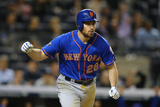 May 13, 2014, New York Mets vs New York Yankees - Daniel Murphy Photographic Print by Al Bello