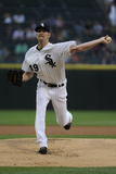 Jun 12, 2014, Detroit Tigers vs Chicago White Sox - Chris Sale Photographic Print by David Banks