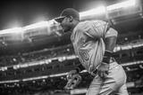 Apr 9, 2014, Baltimore Orioles vs New York Yankees - Adam Jones Fotografisk tryk af Rob Tringali