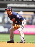 May 31, 2014, Minnesota Twins vs New York Yankees - Brian Dozier Photographic Print by Al Bello