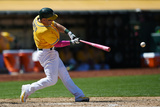 May 11, 2014, Washington Nationals vs Oakland Athletics - Brandon Moss Photographic Print by Thearon W. Henderson
