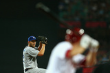 Mar 22, 2014, Los Angeles Dodgers vs Arizona Diamondbacks - Clayton Kershaw Photographic Print by Cameron Spencer
