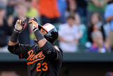 May 23, 2014, Cleveland Indians vs Baltimore Orioles - Nelson Cruz Photographic Print by Patrick Smith