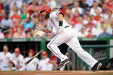 Jul 1, 2014, Colorado Rockies vs Washington Nationals - Jayson Werth Photographic Print by Mitchell Layton