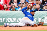 May 22, 2014, Toronto Blue Jays vs Boston Red Sox - Edwin Encarnacion Photographic Print by Jared Wickerham