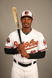 2014 Baltimore Orioles Photo Day: Feb 22 - Adam Jones Photographic Print by Robbie Rogers