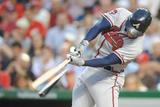 Jun 19, 2014, Atlanta Braves vs Washington Nationals - Freddie Freeman Photographic Print by Mitchell Layton
