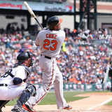 Apr 6, 2014, Baltimore Orioles vs Detroit Tigers - Nelson Cruz Photographic Print by Leon Halip