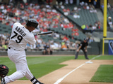 Jun 18, 2014, San Francisco Giants vs Chicago White Sox - Jose Abreu Photographic Print by David Banks