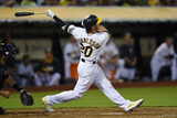 May 28, 2014, Detroit Tigers vs Oakland Athletics - Josh Donaldson Photographic Print by Thearon W. Henderson