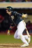 May 10, 2014, Washington Nationals vs Oakland Athletics - Josh Donaldson Photographic Print by Thearon W. Henderson