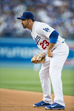 Apr 19, 2014, Arizona Diamondbacks vs Los Angeles Dodgers - Adrian Gonzalez Photographic Print by Paul Spinelli