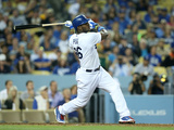 May 29, 2014, Pittsburgh Pirates vs Los Angeles Dodgers - Yasiel Puig Photographic Print by Stephen Dunn