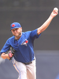 Mar 23, 2014, Toronto Blue Jays vs New York Yankees - Mark Buehrle Photographic Print by Leon Halip