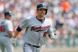 Aug 22, 2013, Minnesota Twins vs Detroit Tigers - Brian Dozier Photographic Print by Leon Halip