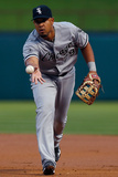 Apr 18, 2014, Chicago White Sox vs Texas Rangers - Jose Abreu Photographic Print by Tom Pennington