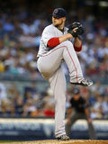 Jun 28, 2014, Boston Red Sox vs New York Yankees - Jon Lester Photographic Print by Rich Schultz