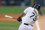 May 9, 2014, Arizona Diamondbacks vs Chicago White Sox - Jose Abreu Photographic Print by Jonathan Daniel