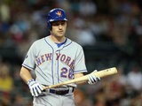 Apr 16, 2014, New York Mets vs Arizona Diamondbacks - Daniel Murphy Photographic Print by Christian Petersen