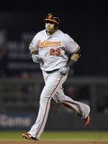 May 2, 2014, Baltimore Orioles vs Minnesota Twins - Nelson Cruz Photographic Print by Hannah Foslien