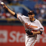 Sep 3, 2011, Baltimore Orioles vs Tampa Bay Rays - Alfredo Simon Photographic Print by Charles Sonnenblick