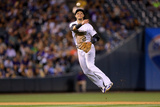 Jun 6, 2014, Los Angeles Dodgers vs Colorado Rockies - Troy Tulowitzki Photographic Print by Justin Edmonds