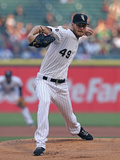 May 22, 2014, New York Yankees vs Chicago White Sox - Chris Sale Photographic Print by Jonathan Daniel
