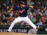 Jun 3, 2014, Boston Red Sox vs Cleveland Indians - Cody Allen Photographic Print by David Maxwell