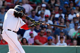 Jun 18, 2014, Minnesota Twins vs Boston Red Sox - David Ortiz Photographic Print by Jim Rogash