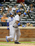 May 20, 2014, Los Angeles Dodgers vs New York Mets - Yasiel Puig Photographic Print