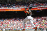 Sep 22, 2013, Miami Marlins vs Washington Nationals - Giancarlo Stanton Photographic Print by Jonathan Ernst