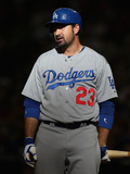 Apr 13, 2014, Los Angeles Dodgers vs Arizona Diamondbacks - Adrian Gonzalez Photographic Print by Christian Petersen