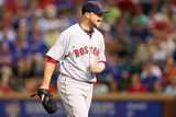 May 10, 2014, Boston Red Sox vs Texas Rangers - Jon Lester Photographic Print by Ronald Martinez