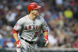 Jun 17, 2014, Los Angeles Angels of Anaheim vs Cleveland Indians - Mike Trout Photographic Print by Jason Miller
