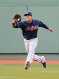 May 12, 2012, Cleveland Indians vs Boston Red Sox - Michael Brantley Photographic Print by Jim Rogash