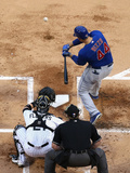May 8, 2014, Chicago Cubs vs Chicago White Sox - Anthony Rizzo Photographic Print by Jonathan Daniel