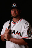 Miami Marlins Photo Day: Feb 25, 2014 - Casey McGehee Photographic Print by Chris Trotman