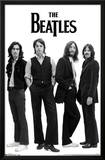 The Beatles Black and White Prints