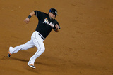 May 24, 2014, Milwaukee Brewers vs Miami Marlins - Casey McGehee Photographic Print by Chris Trotman
