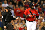 May 2, 2014, Oakland Athletics vs Boston Red Sox - David Ortiz Photographic Print by Jim Rogash