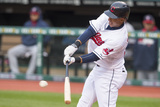 May 5, 2014, Minnesota Twins  vs Cleveland Indians - Michael Brantley Photographic Print by Jason Miller