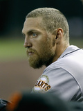 Apr 2, 2014, San Francisco Giants vs Arizona Diamondbacks - Hunter Pence Photographic Print by Ralph Freso