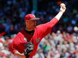 Jul 5, 2014, Baltimore Orioles vs Boston Red Sox - Jon Lester Photographic Print by Jim Rogash