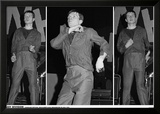 Joy Division-Ian Curtis 3 Pics Manchester 79 Posters